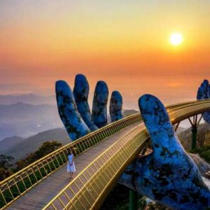 Golden Bridge- Ba Na Hills